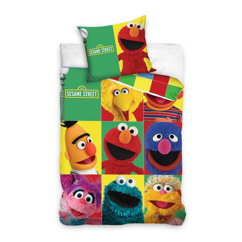 Povlečení Sesame Street kostky