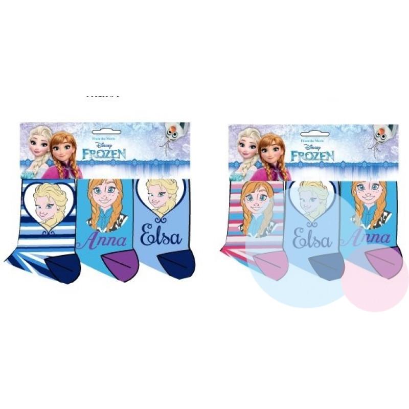 Ponožky Frozen 3 kusy