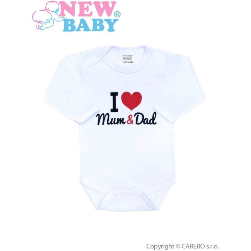 Body New Baby I love Mum and Dad