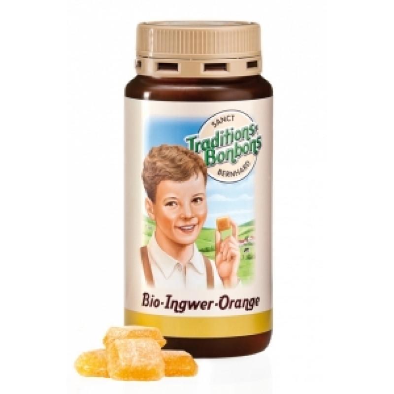 Bonbóny zázvorovo-pomerančové BIO