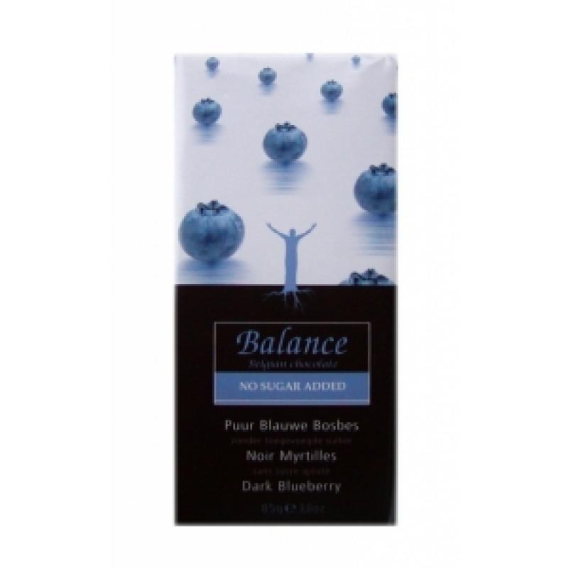 Hořká čokoláda s borůvkami Balance