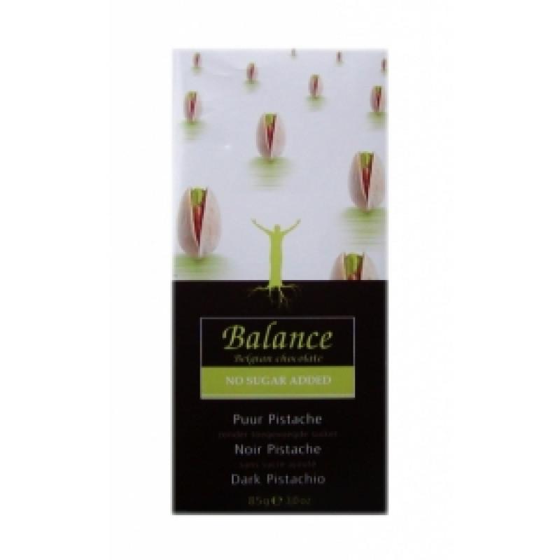 Hořká čokoláda s pistáciemi Balance
