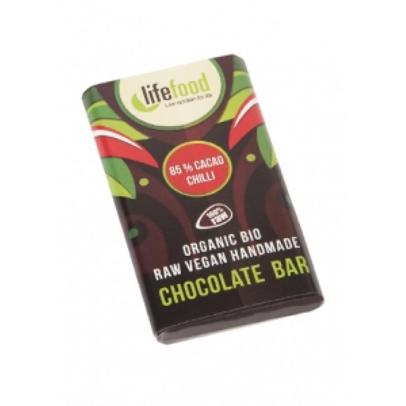 Lifefood Mini čokoládka s chilli BIO