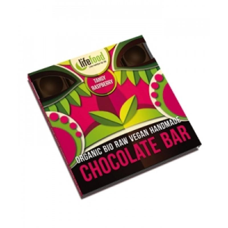 Lifefood střední čokoláda malinová BIO
