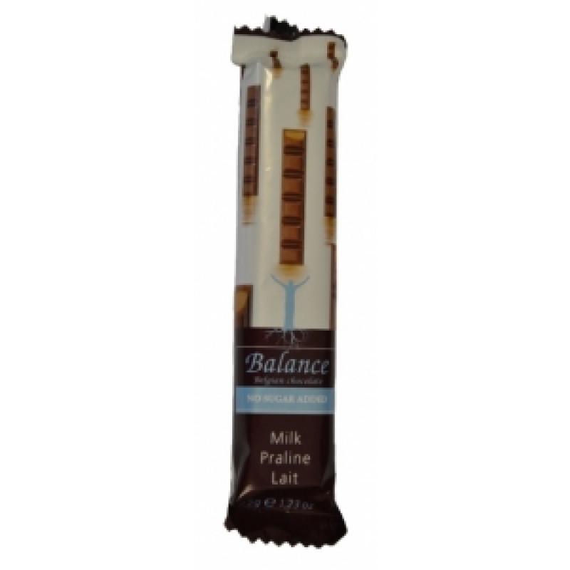 Mléčná čokoláda praliné Balance