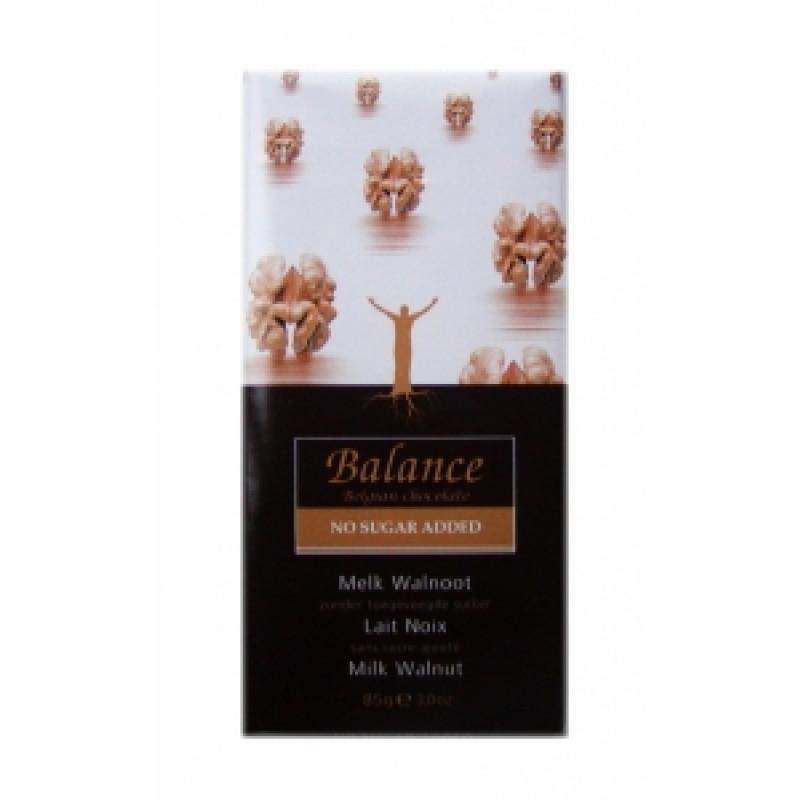 Mléčná čokoláda s vlašskými ořechy Balance