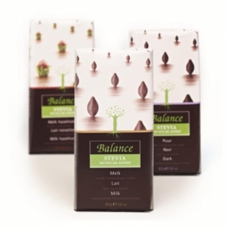 Mléčná čokoláda se stévií Balance