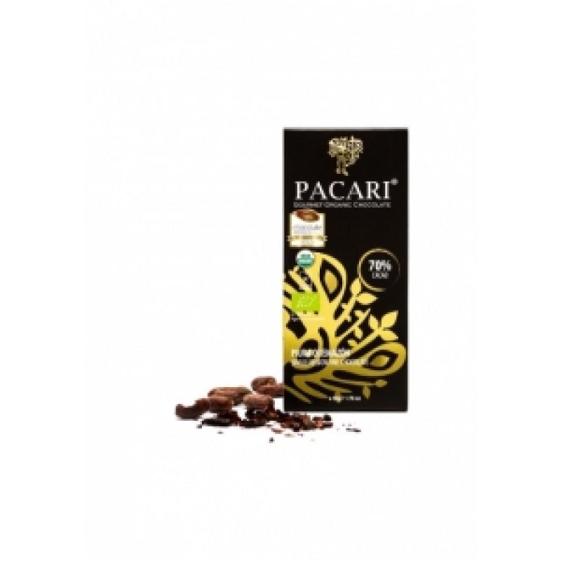 Pacari 70% hořká čokoláda Piura BIO