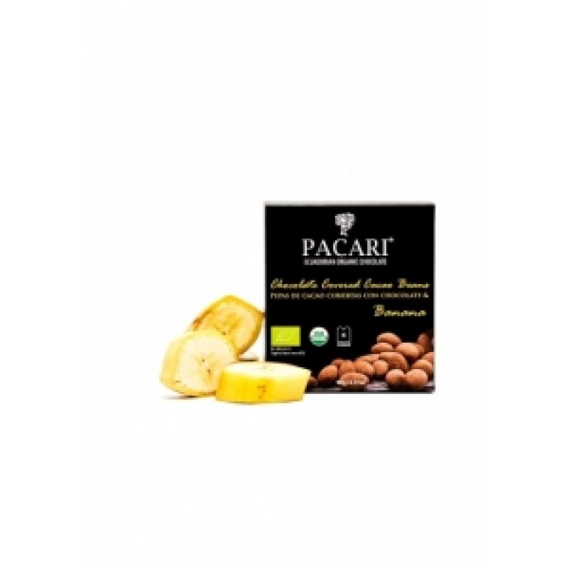Pacari kakaové boby banán BIO