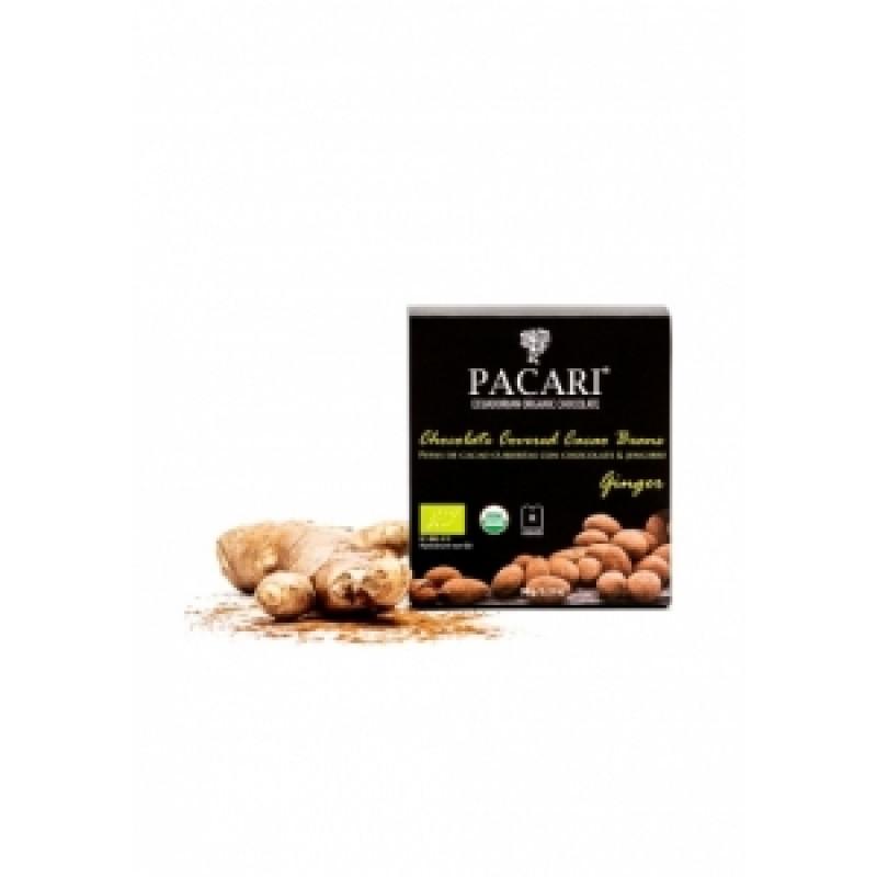 Pacari kakaové boby zázvor BIO