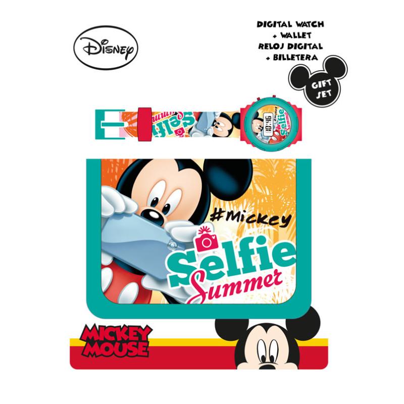 Peněženka a hodinky Mickey Selfie
