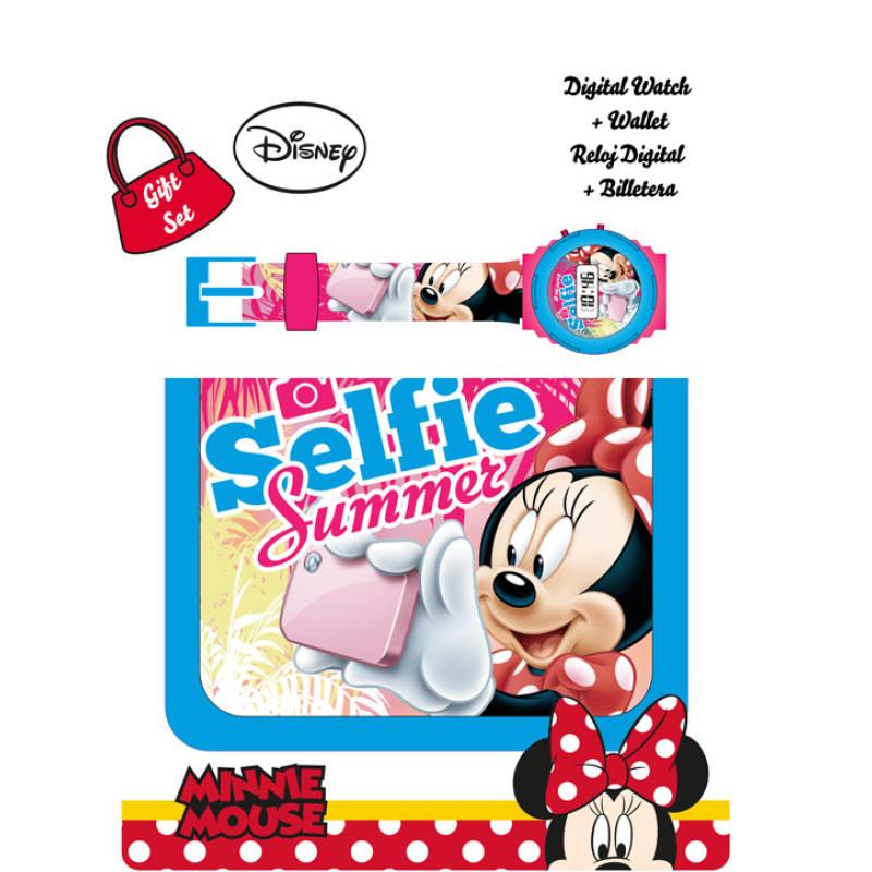 Peněženka a hodinky Minnie Selfie