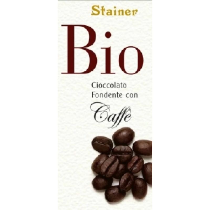 Stainer hořká čokoláda s kávou BIO