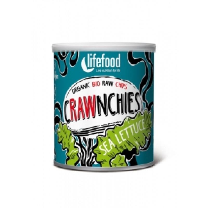 Crawnchies s mořským salátem BIO