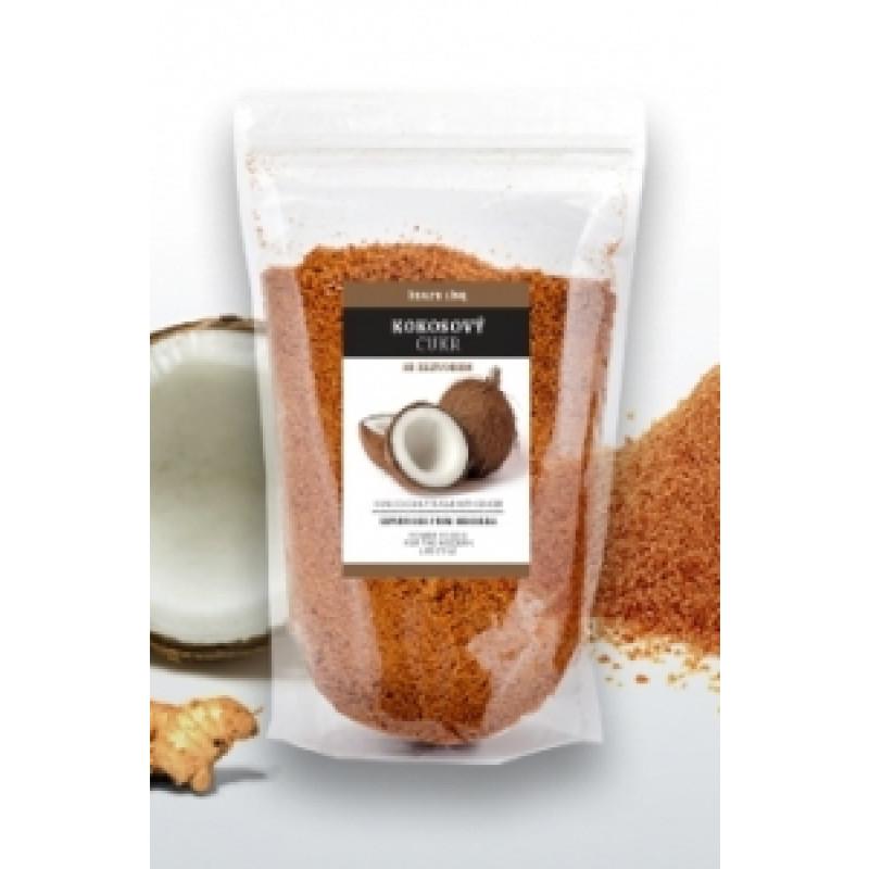 Kokosový cukr se zázvorem