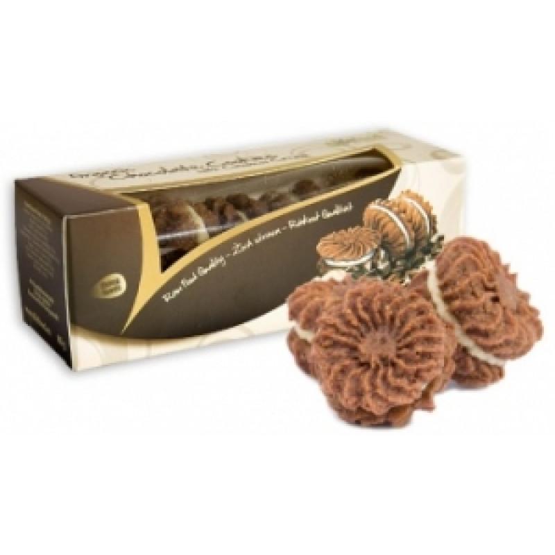 Koláčky čokoládové s kešu krémem BIO