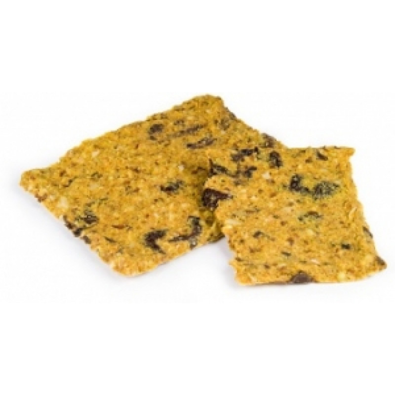Nepečené VITA placky s olivami BIO