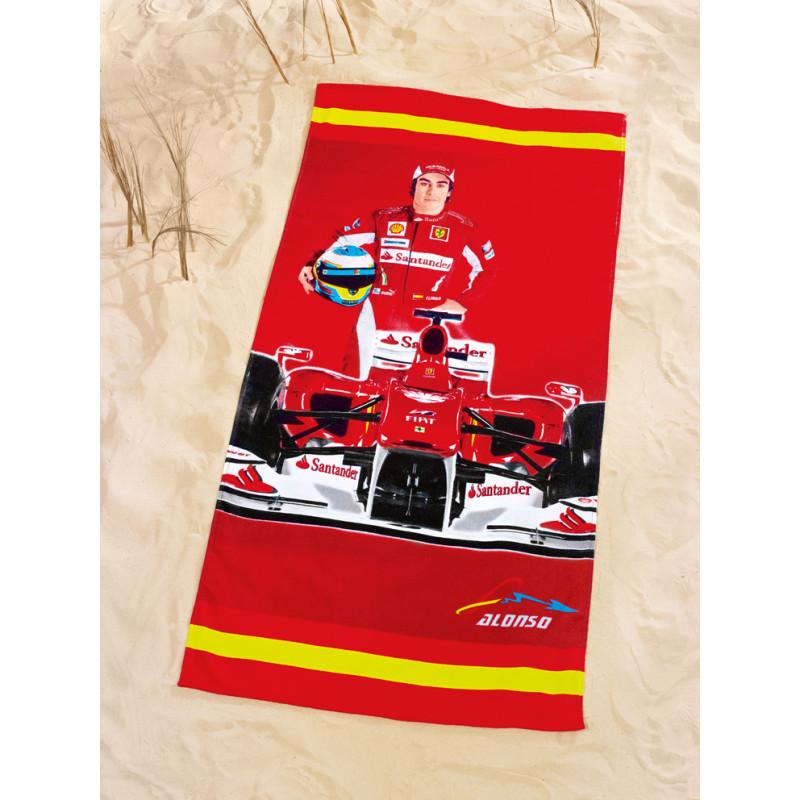 Osuška plážová Ferrari Alonso