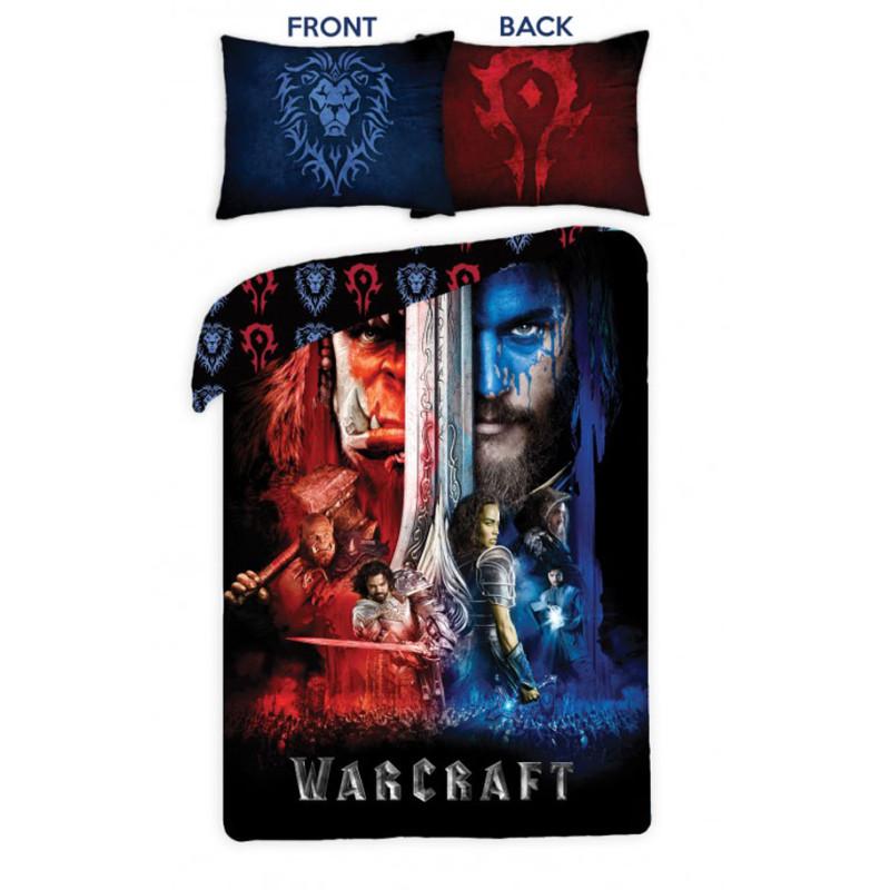Povlečení Warcraft black
