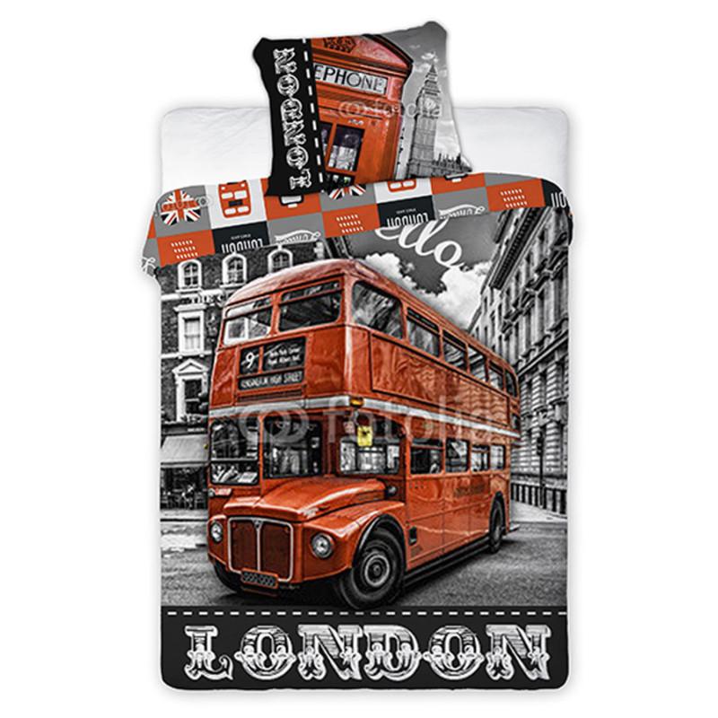 Povlečení London Bus ulice