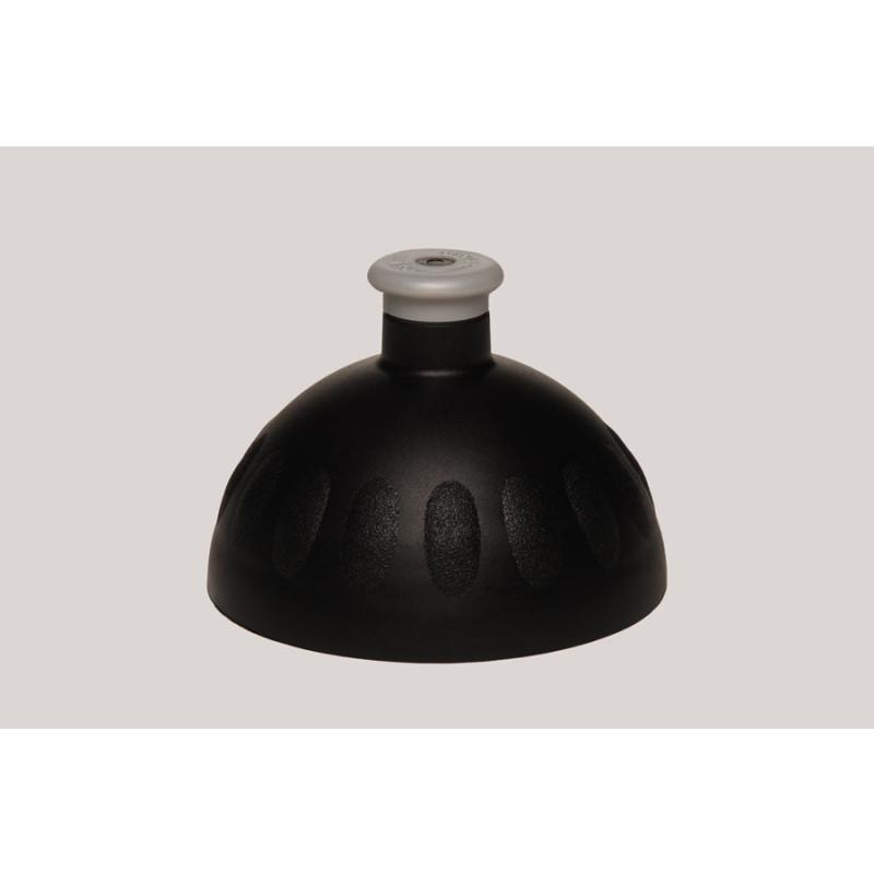 Zdravá lahev - víčko - černé