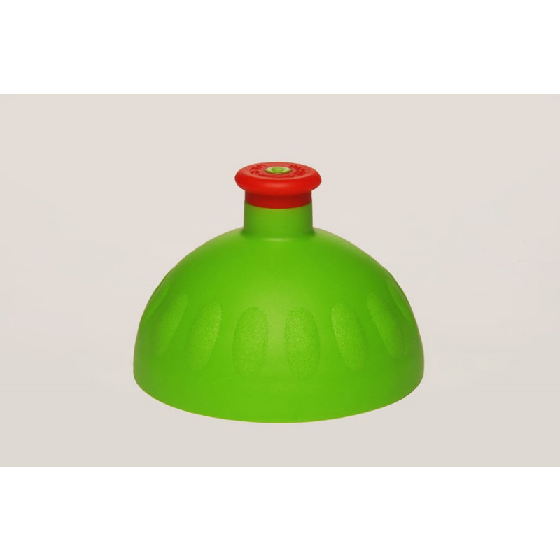 Zdravá lahev - víčko - zelené