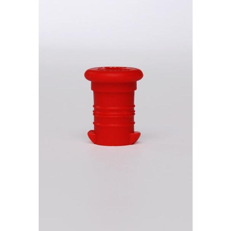 Zdravá lahev - zátka - červená