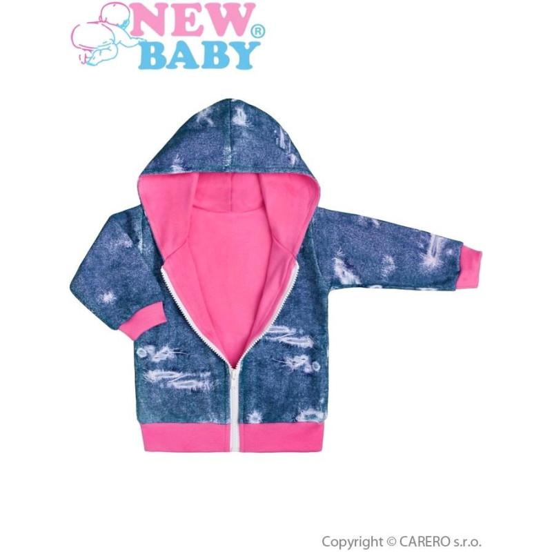 Mikinka s kapucí Light Jeans baby