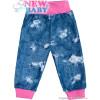 Tepláčky s kapsami Light Jeans baby