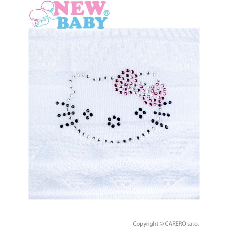 Čepička - šátek kočička