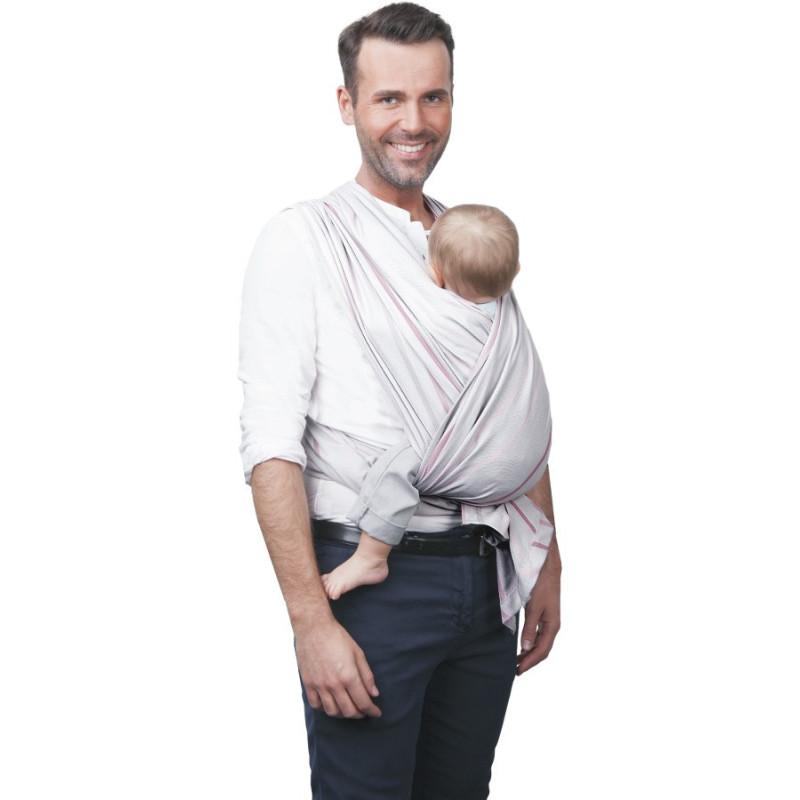 Šátek na nošení dětí Be Close v Eko krabici