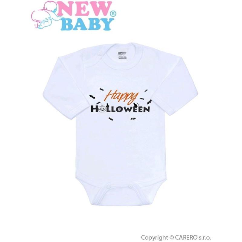 Body s potiskem Happy Halloween