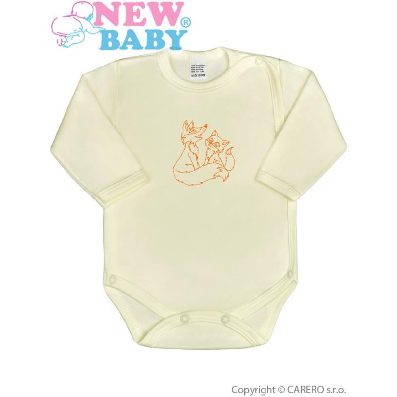 Body celorozepínací New Baby Malá Zvířátka