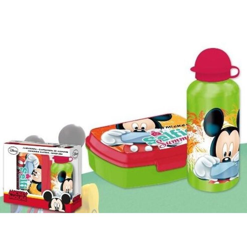 Box na svačinu a láhev Mickey
