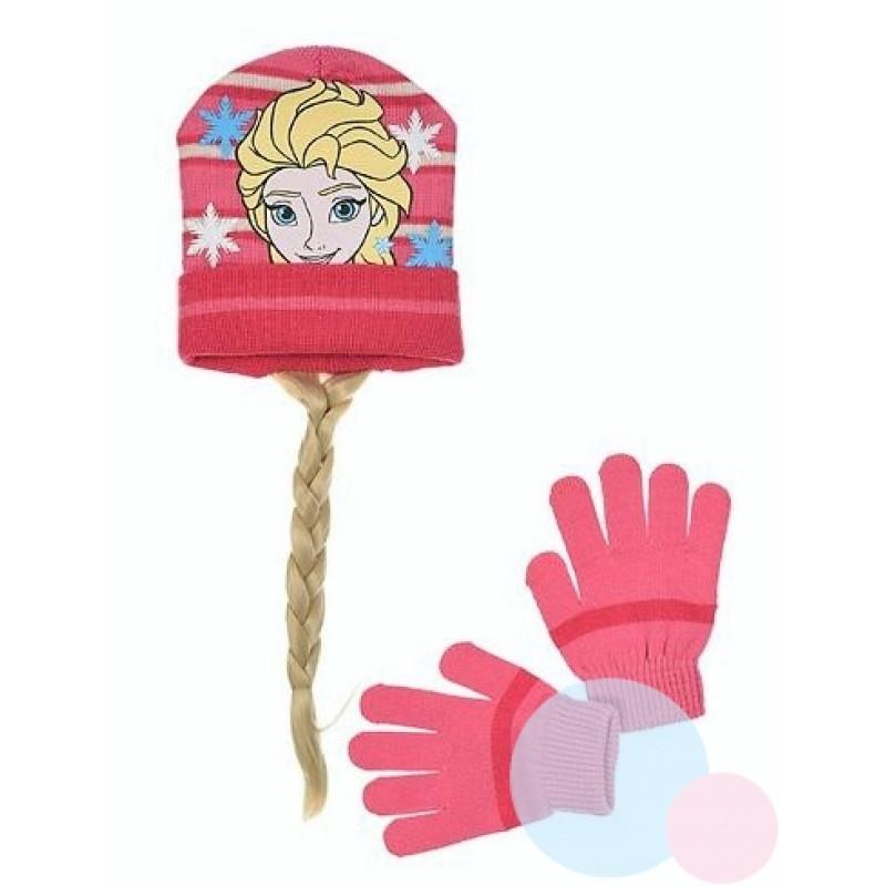 Čepice a rukavice Ledové Království