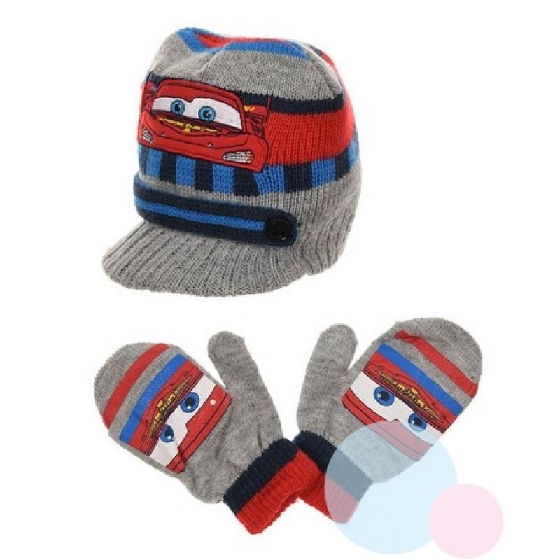 Čepice a rukavice Cars