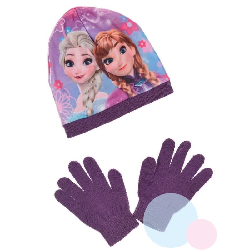 Čepice a rukavice Frozen