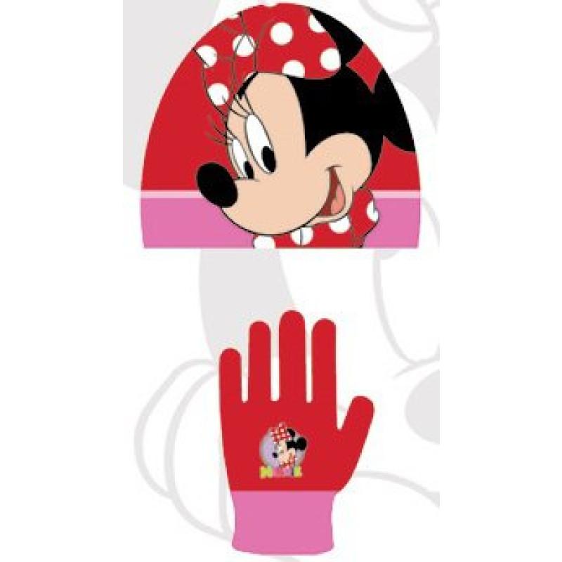 Čepice a rukavice Minnie