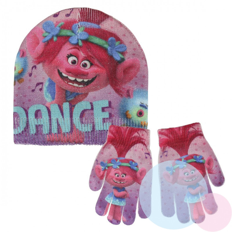 Čepice a rukavice Trollové