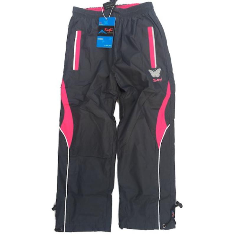 Kalhoty šusťákové zateplené