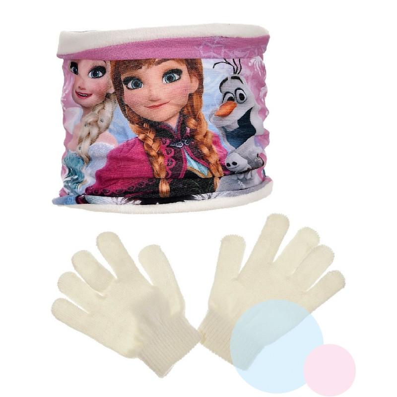 Nákrčník a rukavice Ledové Království