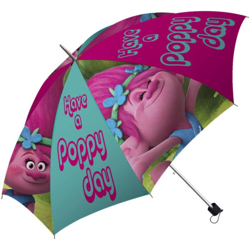 Deštník Trollové Poppy skládací