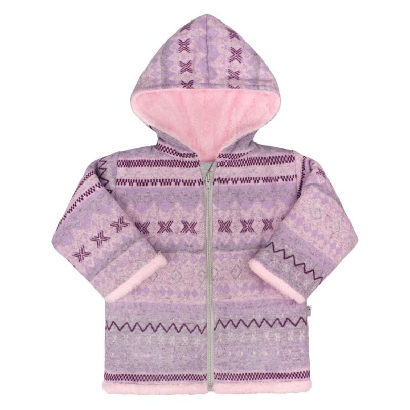 Kabátek Baby Service Etnik zima