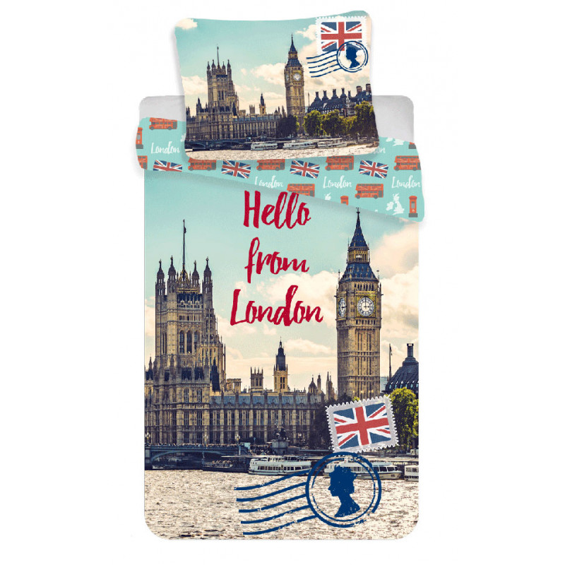 Povlečení Londýn Hello