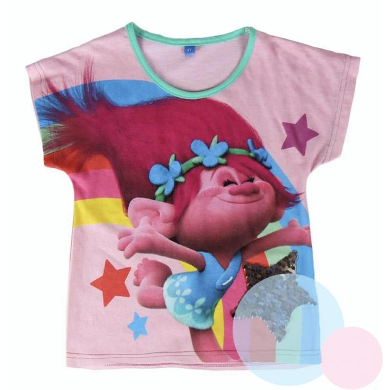 Tričko Trollové Poppy