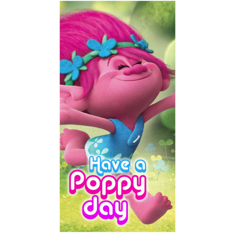 Osuška Trollové Poppy