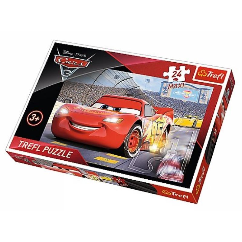 Puzzle Cars 24 dílků