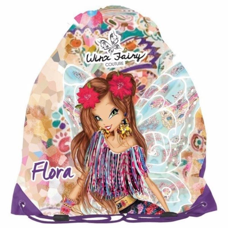 Pytlík na přezůvky Winx Flora