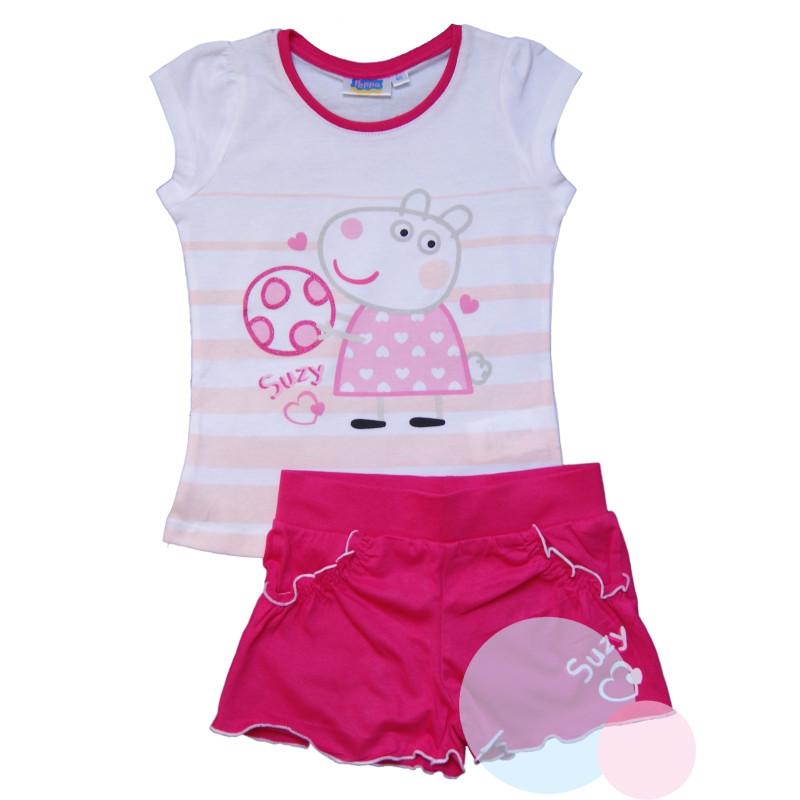 Tričko a kraťasy Peppa Pig