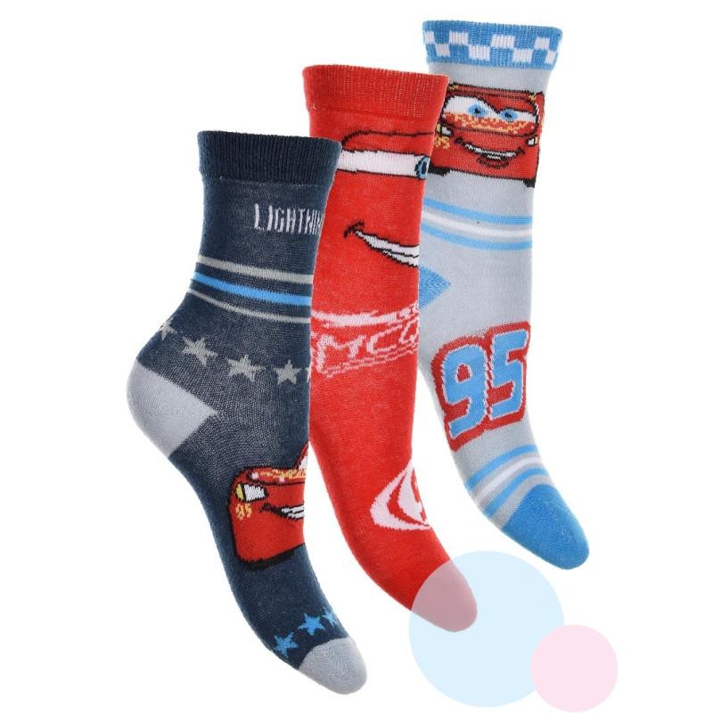 Ponožky Cars 3 kusy